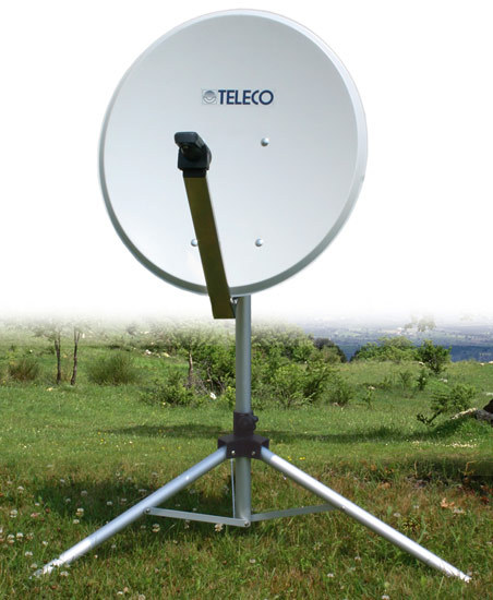 antenne satellite portable carry sat 65 cm teleco. Black Bedroom Furniture Sets. Home Design Ideas