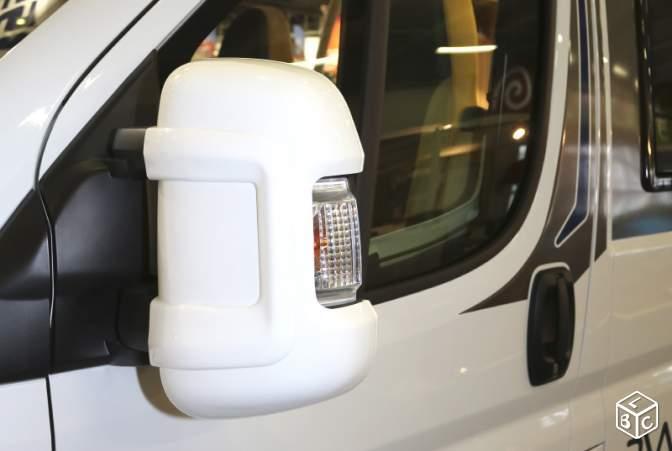 De Rétroviseur Coque Couleur Blanche Protection Milenco Nn08mw