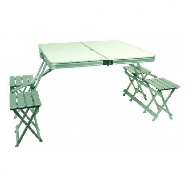 Table Valise Aluminium Midland