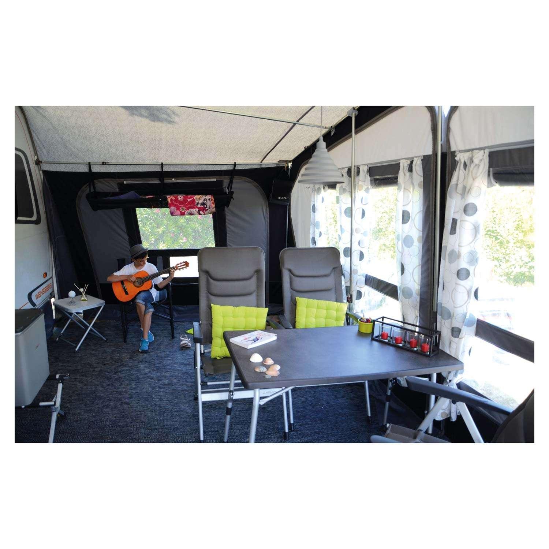 tapis de sol pvc bleu pour caravane accessoires camping. Black Bedroom Furniture Sets. Home Design Ideas